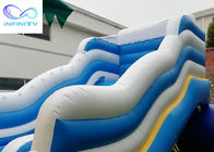 Outdoor Backyard Kids Inflatable Water Slide With Swimming Pool