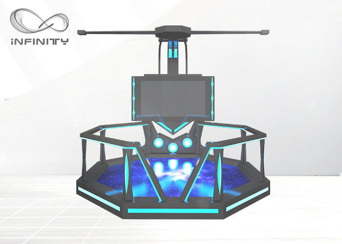 1 Player 9D Virtual Reality Walking Platform Game Machine Simulator