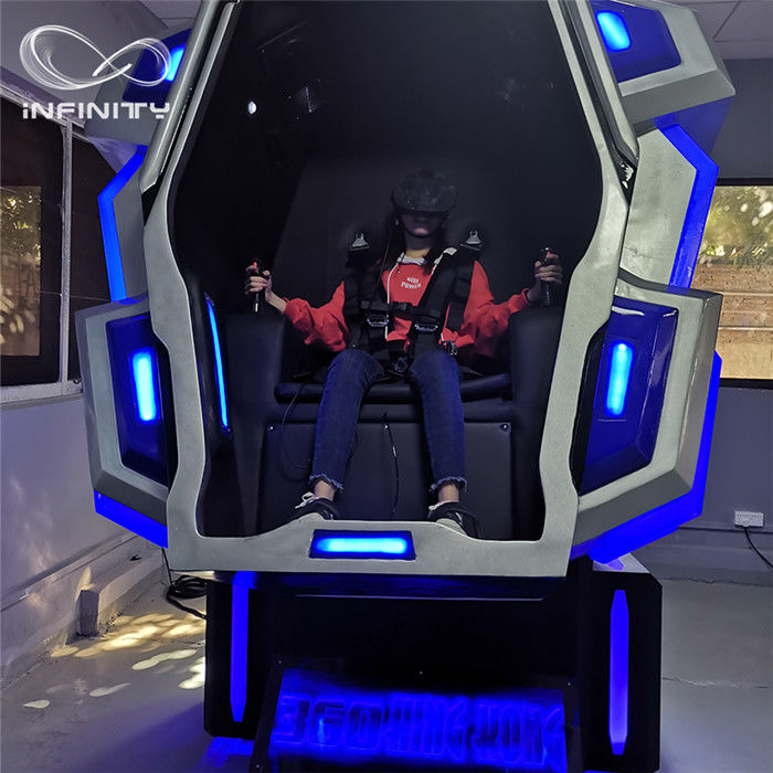 Unique Cockpit King Kong VR Motion Simulator 2.2M*1.7M*2.25M 110V  4kw