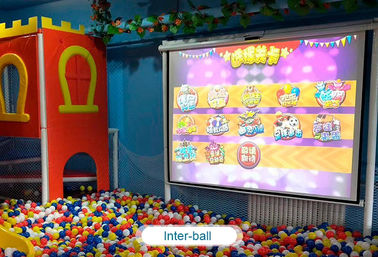 Interactive floor game projector interactive projection wall children game machine